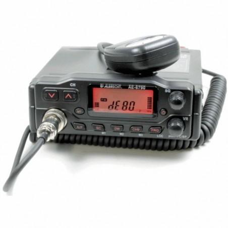 Albrecht AE-6790 Multi AM/FM (odłączany panel)
