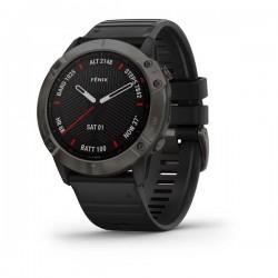 fēnix® 6X Pro Czarny z czarnym paskiem