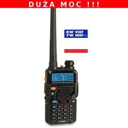 KT-980 HP - Dwuzakresowa radiostacja ręczna na pasma VHF i UHF + FM (136-174 Mhz i 400-520 Mhz)