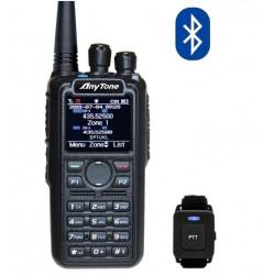 AnyTone AT-D878UV Plus z BlueTooth SP-DMR radiotelefon DMR + FM, MotoTRBO Tier I i II z obsługą 5 DMR ID i APRS
