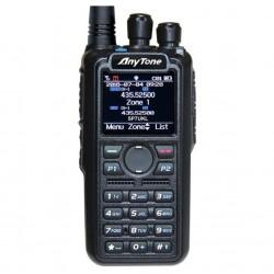AnyTone AT-D878UV SP-DMR radiotelefon DMR + FM, MotoTRBO Tier I i II z obsługą 5 DMR ID i APRS