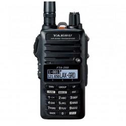 Yaesu FTA-250L - ręczny radiotelefon na pasmo lotnicze z krokiem 8.33 i 25kHz