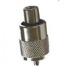 Wtyk UHF/PL259 kabel RG59-6,5mm