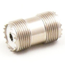 Złączka (RA04) beczka/gn.podwójne (UHF-302)
