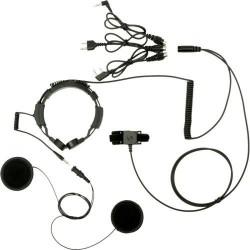 Podwójny laryngofon z zestawem słuchawkowym (LGF-22H)